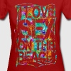 I LOVE SEX ON THE BEACH - T-shirt bio Femme