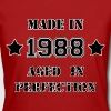 Made in 1988 - Camiseta ecológica mujer