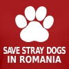 Save Stray Dogs In Romania - Women's Organic T-shirt