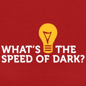 Vad är Speed ​​of Dark? - Ekologisk T-shirt dam