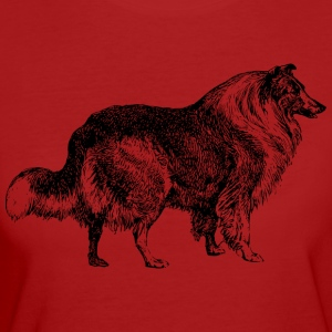 Collie - Frauen Bio-T-Shirt