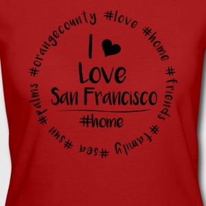 I love San Francisco - Orange County - Frauen Bio-T-Shirt