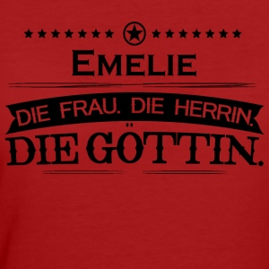 birthday legend goettin emelie - Women's Organic T-shirt