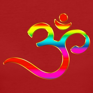 Om, Symbol, Rainbow, Buddhism, Mantra, Meditation,