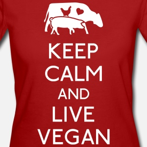 Keep Calm and live vegan