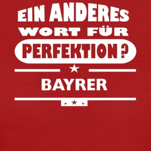 Bayrer Other word for perfection - Women's Organic T-shirt