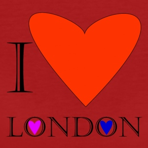 I Love London 1A - T-shirt Bio Femme