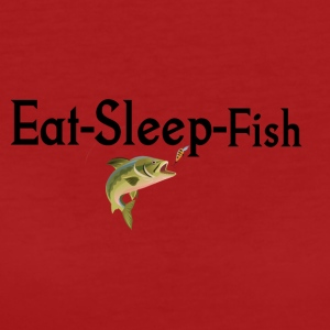 Eat Sleep and Fish - Women's Organic T-shirt