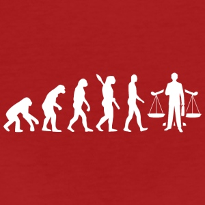 evolution ANWALT White - Frauen Bio-T-Shirt