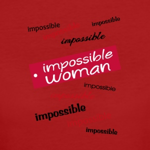 impossible woman - T-shirt ecologica da donna