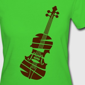 Violin - Women's Organic T-shirt