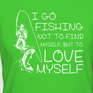 I go fishing - Women's Organic T-shirt