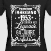 64 - 1953 - Legende - Perfektion - 2017 - DE - Frauen Bio-T-Shirt