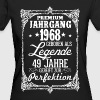 49-1968-legende - perfection - 2017 - DE - Vrouwen Bio-T-shirt