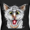 Happy Cat - Frauen Bio-T-Shirt