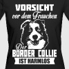 Border Collie - T-shirt bio Femme
