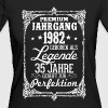 35 - 1982 - Legende - Perfektion - 2017 - DE - Frauen Bio-T-Shirt