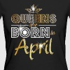 April - Queen - Birthday - 2 - Frauen Bio-T-Shirt