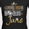 June - Queen - Birthday - 2 - Frauen Bio-T-Shirt