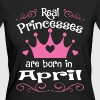April - Princess - Birthday - 1 - Women's Organic T-shirt
