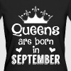 September - Queen - Birthday - 1 - Ekologisk T-shirt dam