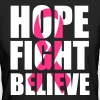 Hope fight believe - Ekologisk T-shirt dam