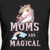 Moms are magical - cute Mothers Day mommy love - Vrouwen Bio-T-shirt