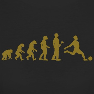 Evolution theory footballer - Women's Organic T-shirt