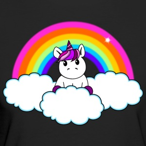 Rainbow Unicorn - Women's Organic T-shirt