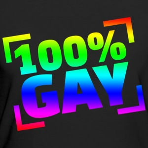 100 Gay - Frauen Bio-T-Shirt