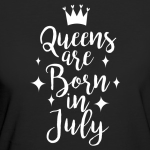 Queens are born in July - Frauen Bio-T-Shirt