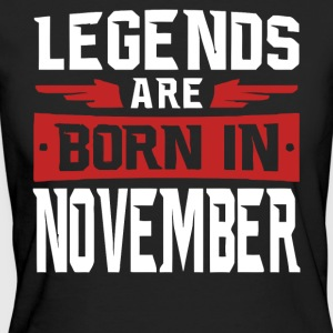 Legends are born in November - Women's Organic T-shirt