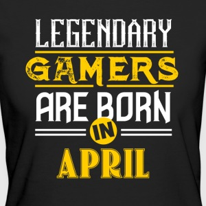 Legendary Gamers föds i april - Ekologisk T-shirt dam