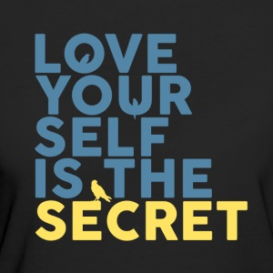 Love Yourself Is The Secret - Camiseta ecológica mujer