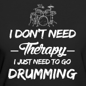 Drums play as a therapy - Women's Organic T-shirt