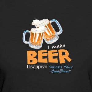 BEER | WHATS YOUR SUPER POWER? - Women's Organic T-shirt