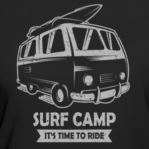 Surf-Camp - Frauen Bio-T-Shirt