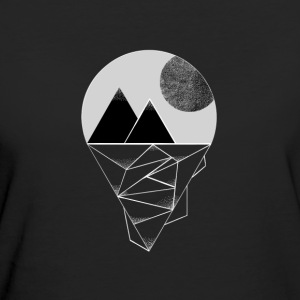 Moon in the mountains - Women's Organic T-shirt