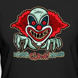 Killer Clown T-shirt - Vrouwen Bio-T-shirt