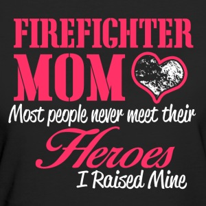 Firefighter MOM - Vrouwen Bio-T-shirt