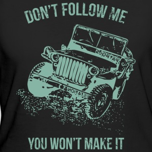 Follow Me Jeep bil - Ekologisk T-shirt dam