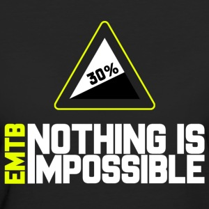 EMTB Nothing is Impossible - 30% - Women's Organic T-shirt
