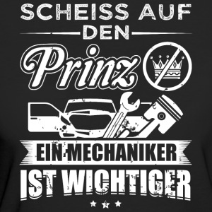 mechaniker SCHEISS PRINZ - Frauen Bio-T-Shirt