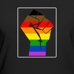 More Color More Pride Philly Rainbow Flag LGBT - Frauen Bio-T-Shirt
