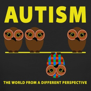 Autism the world from a different perspective - Women's Organic T-shirt