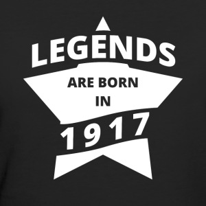 Legends Shirt - Legends are born in 1917 - Women's Organic T-shirt