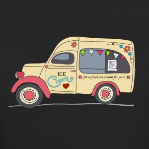 vintage ice cream van - Women's Organic T-shirt