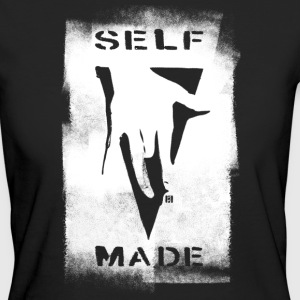 SELFMADECREW Logo Black- Coated - Women's Organic T-shirt