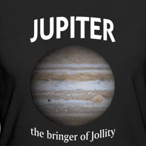 Jupiter - the Bringer of Jollity - Women's Organic T-shirt
