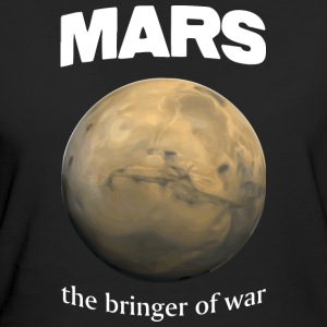 Mars - the Bringer of War - Women's Organic T-shirt